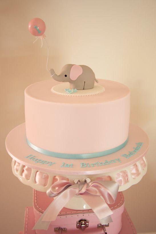 anniversaire un an - theme elephant - 2