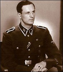 Rochus Misch (born 29 July 1917 in Alt Schalkowitz near Oppeln, Upper Silesia) is a former Oberscharführer (senior squad leader) in the 1st SS Division Leibstandarte SS Adolf Hitler during World War II. He served as a courier, bodyguard and telephone operator for German leader Adolf Hitler from 1940 to 1945. As of 2012, aged 95, he is the last living survivor of the occupants of the Führerbunker in the final days of the war in Europe.