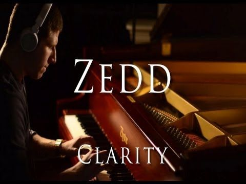Zedd - Clarity ft. Foxes (Evan Duffy Piano Cover) - YouTube