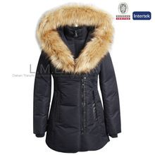 2015 Designs Woman feather long down winter coat Best Buy follow this link http://shopingayo.space
