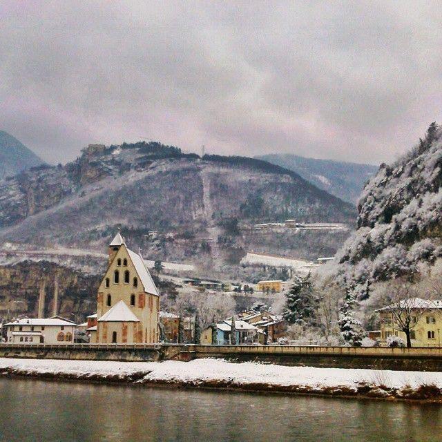 From sea to snow!  Chiesa di San Apollinare - #Trento #Trentino #trentinodavivere #italy - Photo_@doni24donika