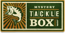 The perfect gift for the fisherman in your life, the Mystery Tackle Box offers several subscription plans and takes the guessing out of purchasing quality lures.
