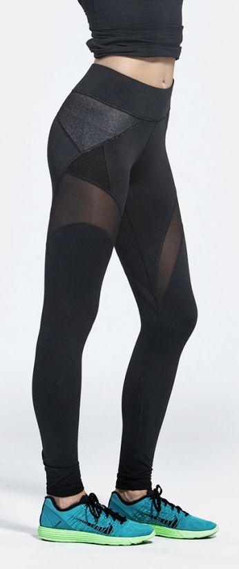 Workout leggings | Running Tights | Workout Clothes @ http://www.FitnessApparelExpress.com