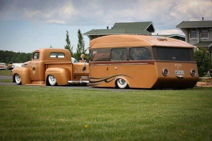 Auto Rv Buy And Sell Used Cars Trucks Rvs And More: Hot Rod Truck And Camper Combo
