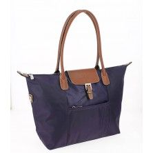 Shopping Bag by HEXAGONA in Violet face