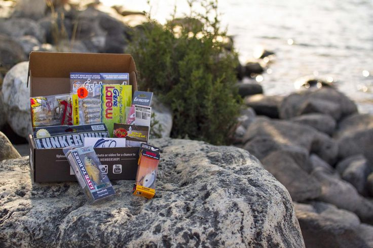 Lucky Tackle Box is the the most popular monthly fishing subscription box that introduces fisherman to new baits and fishing tackle every month. Bass fishing.