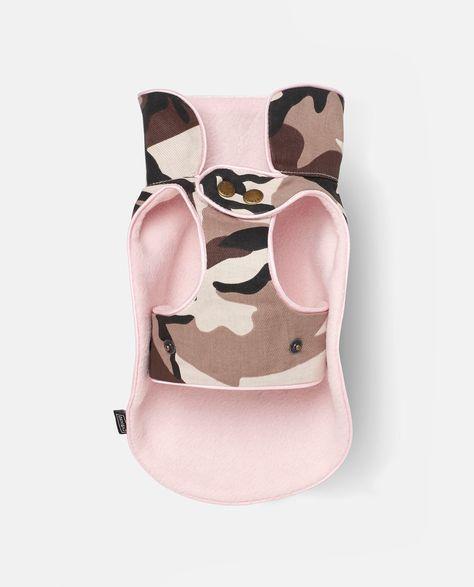 Abrigo camuflaje para perro Cami rosa