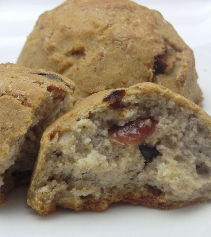 Petits pains express aux amandes et fruits secs sans gluten et sans lactose