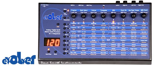 Evolver Desktop Analog/Digital Synthesizer