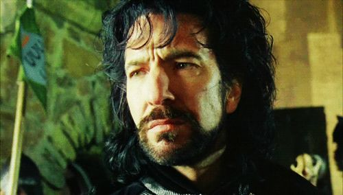 Alan Rickman was an amazing actor who has starred in a huge number of movies. | Never Forget Alan Rickman Starred In This Incredible Music Video | This eyebrow-thing is sooo cool! And it makes me cry.