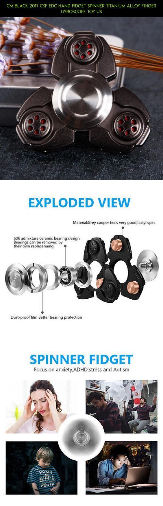 Agapeon Fidget Spinner High Speed Tri Toy Stress Besi Robot Premium Quality Cm Black 2017 Ckf Edc Hand Titanium Alloy Finger Gyroscope Us