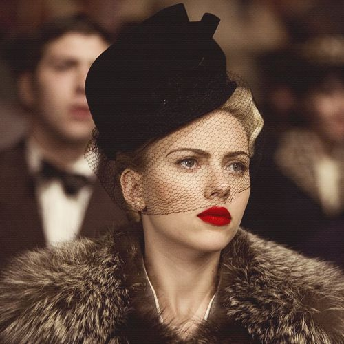 Scarlett Johansson in The Black Dahlia, costumes by Jenny Beavan, 2006