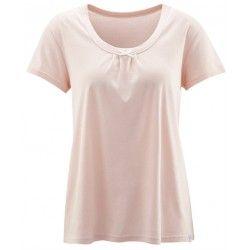 Camiseta pijama mujer verano 100 algodón orgánico Living Crafts