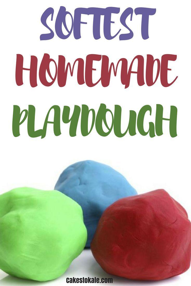 Softest Homemade Playdough Mom Blogs To Follow Pinterest Group
