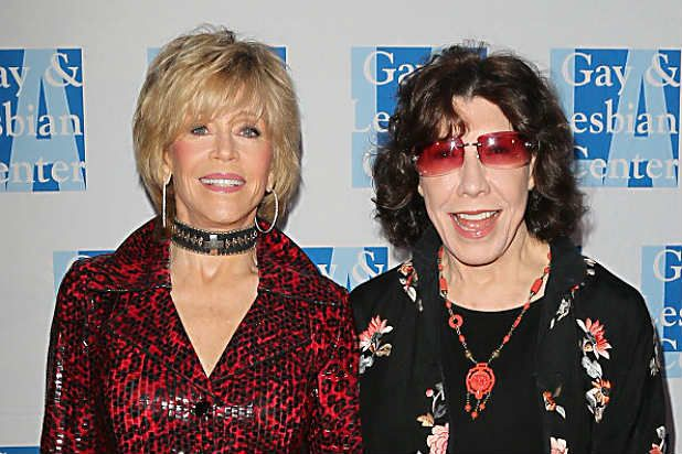 """The actresses will reunite for a 13-episode comedy called """"Grace and Frankie"""" from """"Friends"""" co-creator Marta Kauffman"""