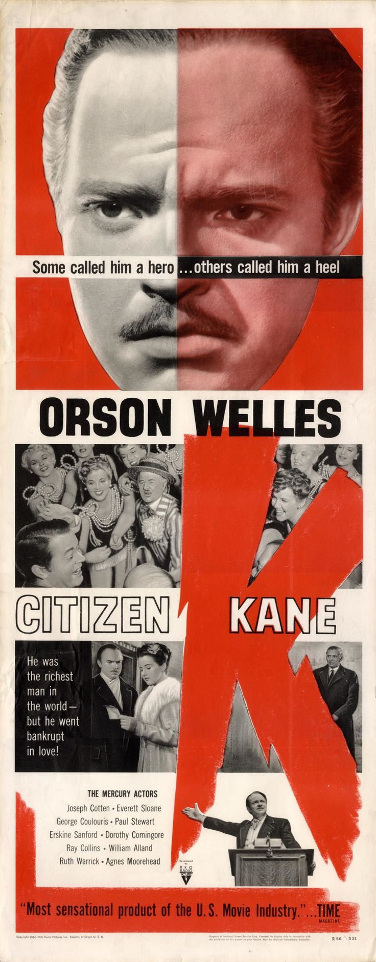an analysis of cinematography in citizen kane by orson welles Citizen kane cinematography is the process of tierra glass citizen kane analysis consequences of obsession in citizen kane, orson welles explores.