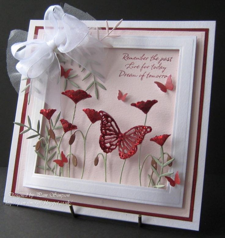images  memory box poppy diesstamps