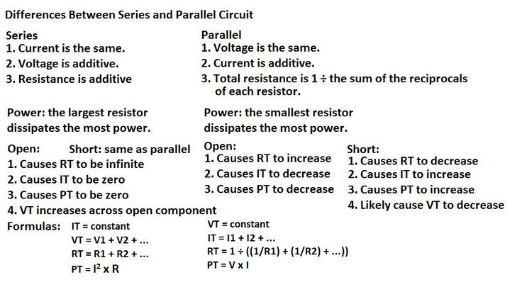 1000+ ideas about Series And Parallel Circuits on ...