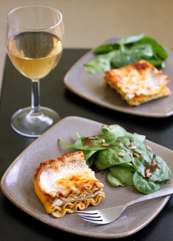 Slow Cooker Squash Lasagna | 52 Kitchen Adventures