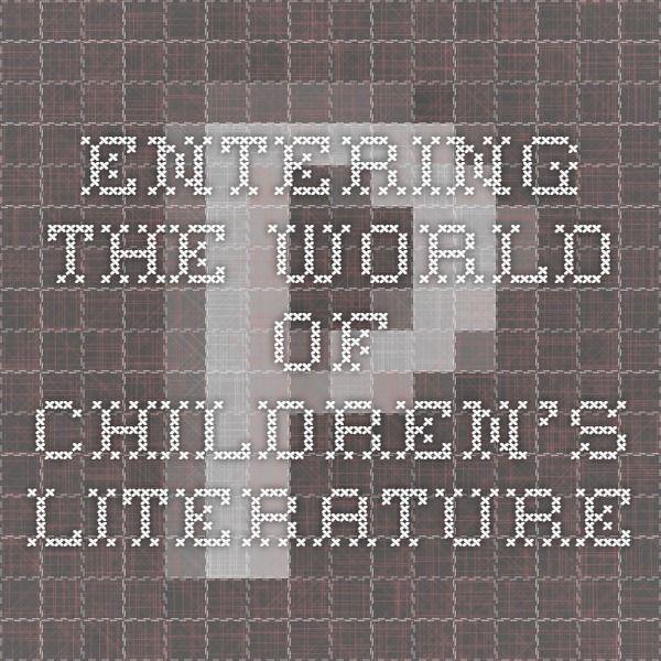 Entering the World of Children's Literature Job Search