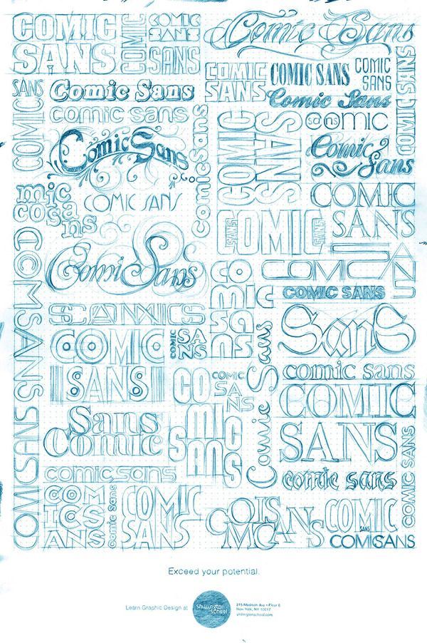 Art Of Drawing Letters Words New Fonts Etc