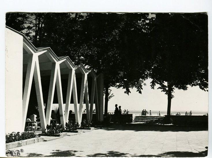 kawiarnia MEDUZA, Sopot, lata 60-te