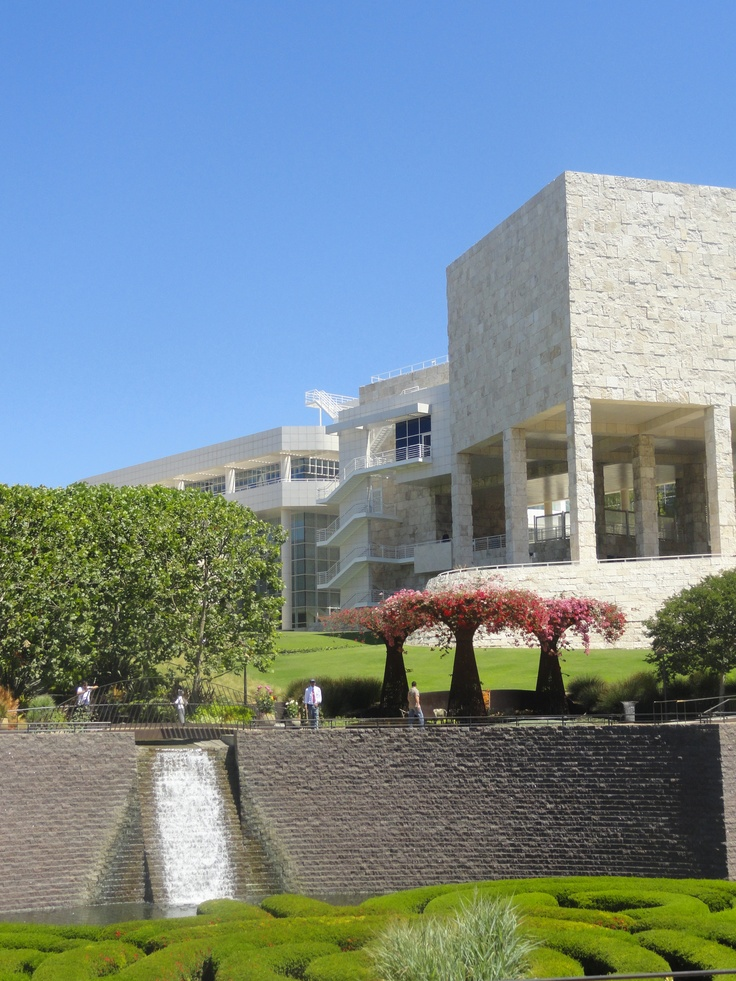 Getty Museum of Art Gardens. Easily one of my favorite Art Museums...period.