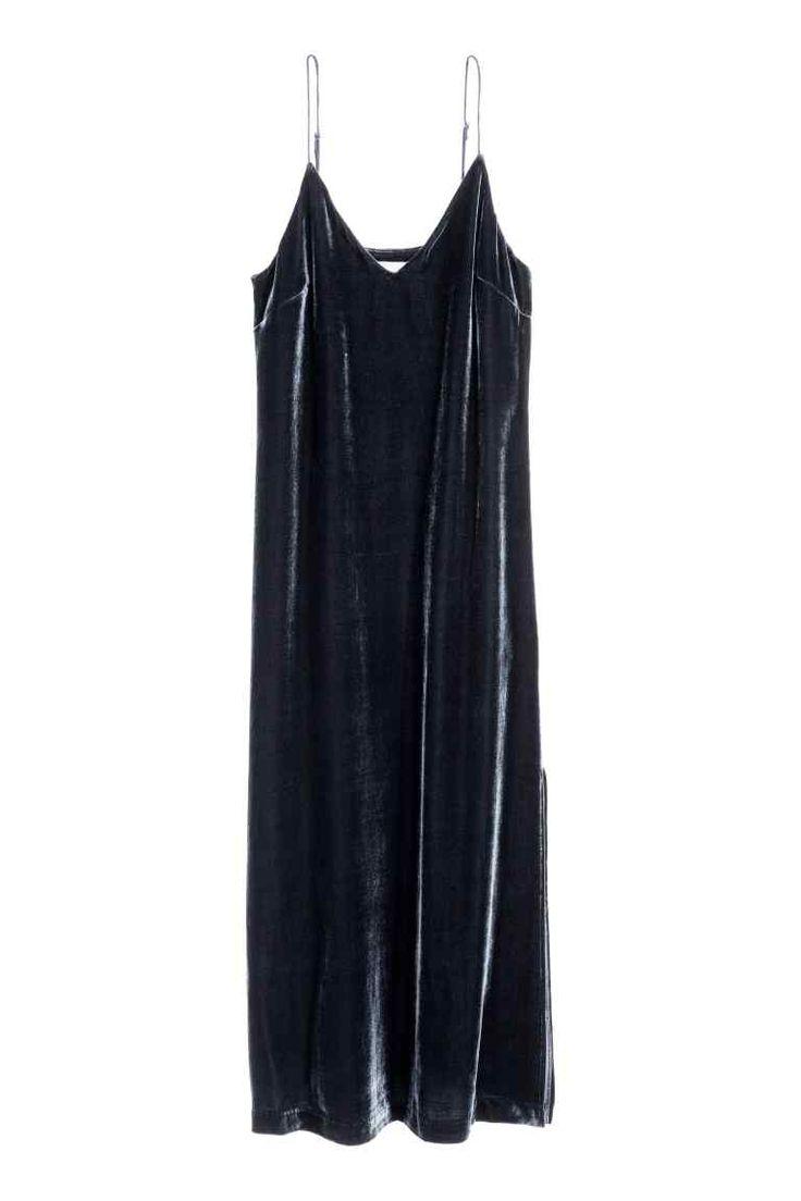 Sukienka z domieszką jedwabiu | H&M