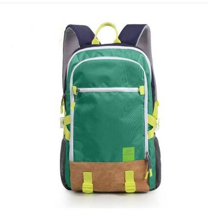 Travel leisure sports outdoor package Climbing on foot backpack Fashion tide package men and women 40L (green)