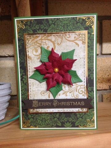 """Marcie From """"Down Under"""" : Poinsettia Merry Christmas !"""