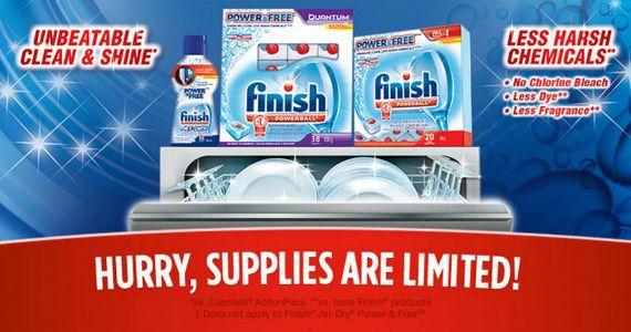 Free Sample of Finish Power