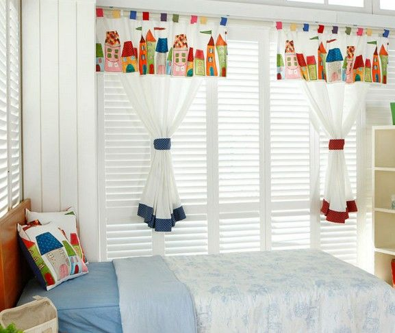 Kids Bedroom Curtains Magnificent 102 Best Kids Curtains Images On Pinterest  Child Room Baby Room Review