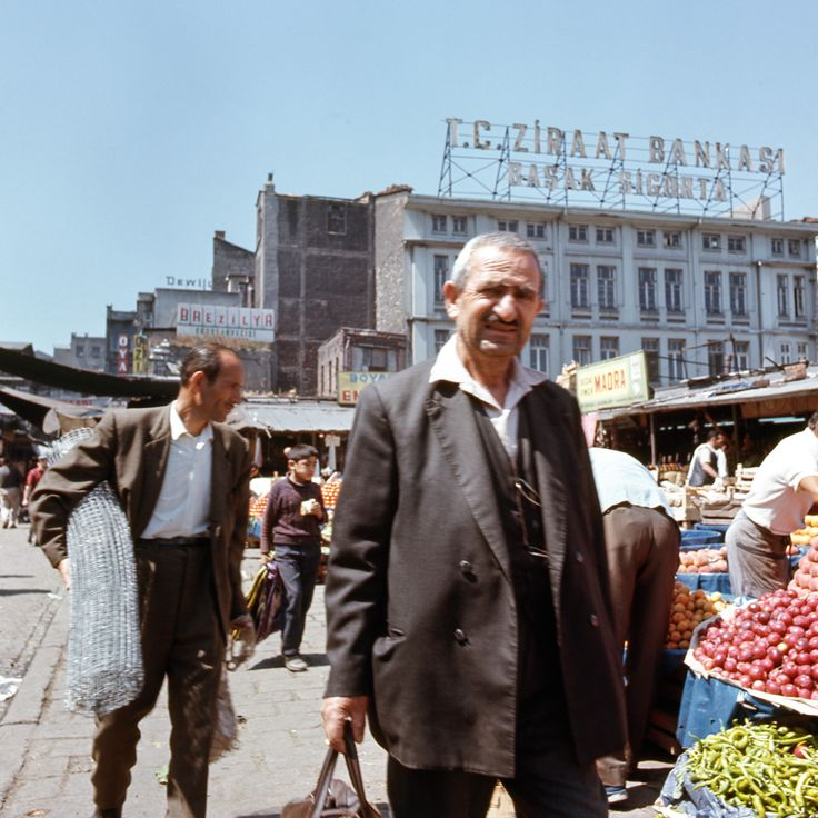 Стамбул после переворота 12 марта 1971: humus