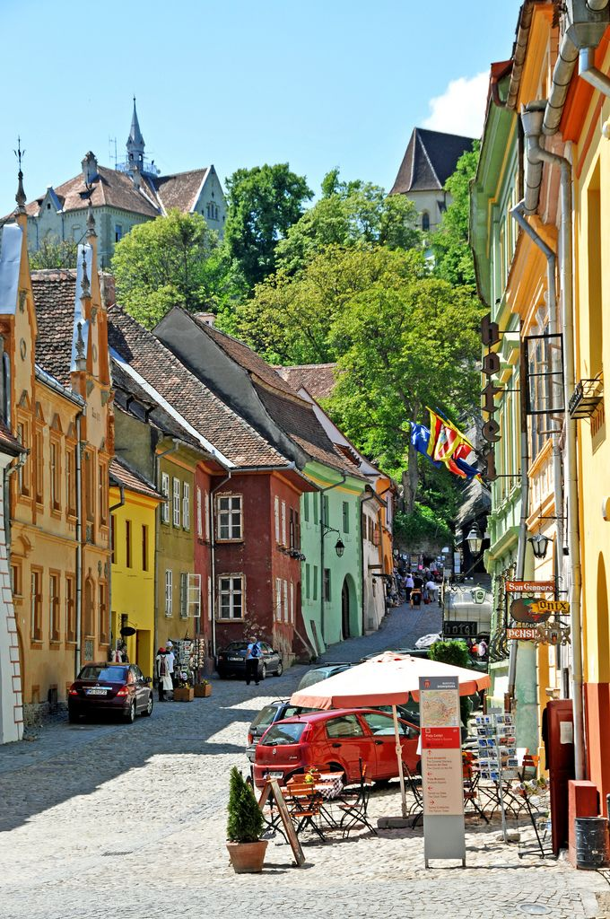 Sighisoara, Romania.  Top 15 must see places in Romania