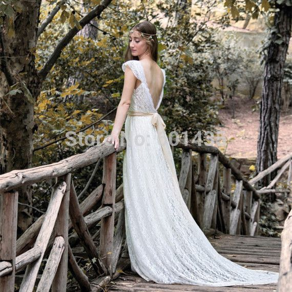 Find More Wedding Dresses Information About Free Shippinng DEBC0017 Elegant White Lace Robe De Mariage