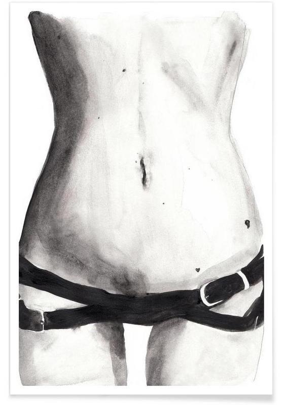 Tuesday with Kate als Premium Poster von Victoria Verbaan | JUNIQE