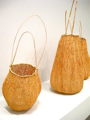 aboriginal fiber baskets