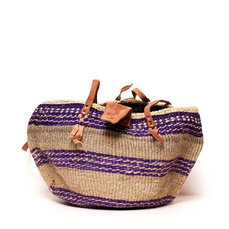 African Basket Tote