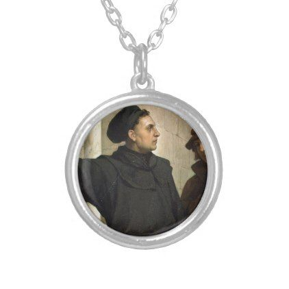 Martin Luther 95 Thesis Silver Plated Necklace - jewelry jewellery unique special diy gift present