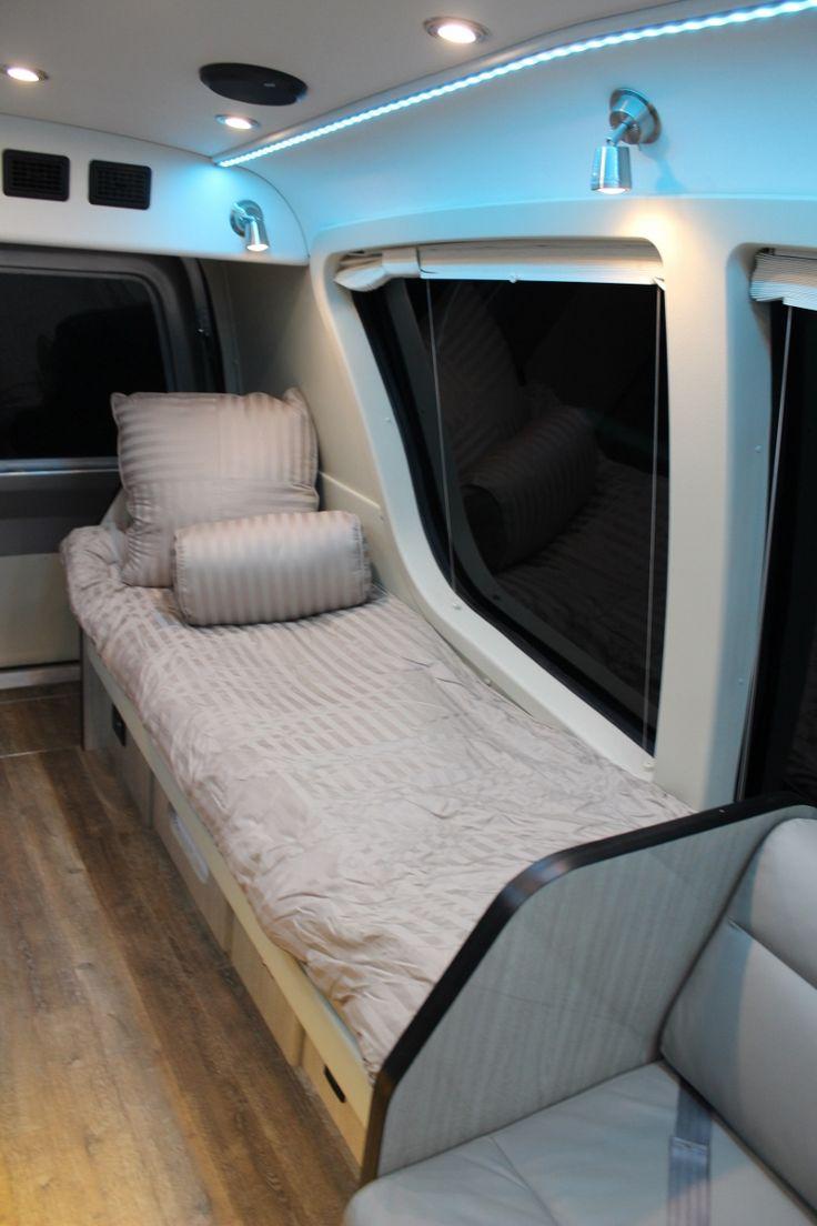 136 best rv beds images on pinterest camper van conversions van life and sprinter camper. Black Bedroom Furniture Sets. Home Design Ideas