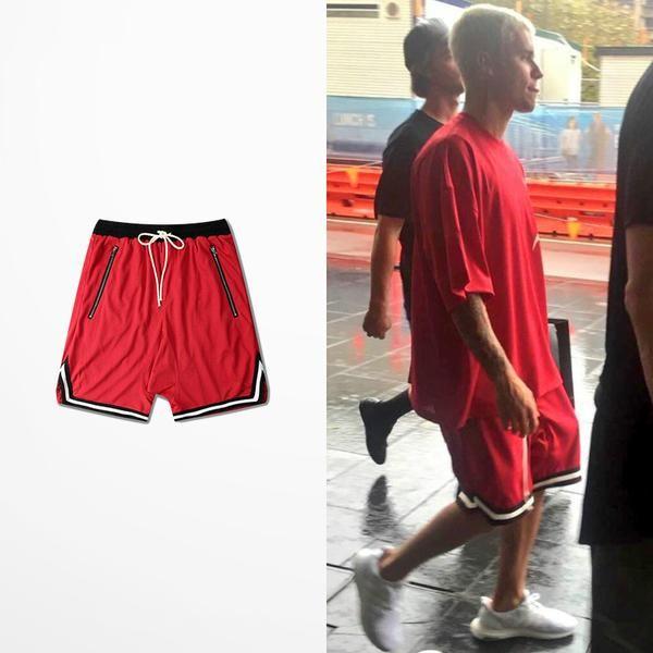 Premium Trim Retro Shorts   – Trackpants