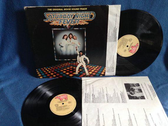 Vintage Saturday Night Fever  Original by sweetleafvinyl on Etsy