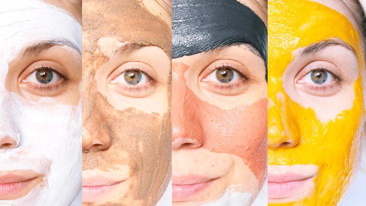 Mes 5 masques favoris pour prendre soin de sa peau mixte ou grasse. Ils sont fait maison ou acheter dans le commerce + 5 recettes à télécharger