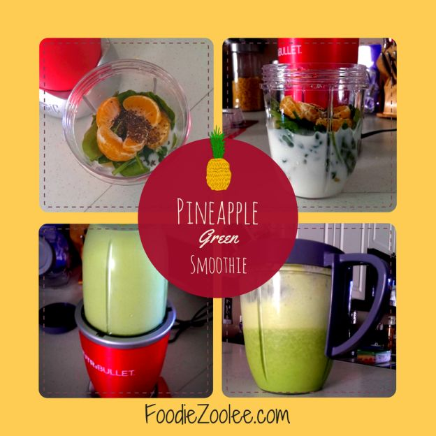 Pineapple Green Smoothie by FoodieZoolee #healthy #blender #foodblog #recipe #vegetarian #citrus #nutibulletSmoothie Recipe, Healthy Blenders, Blenders Foodblog, Pineapple Green, Green Smoothie, Nutribullet Blenders, Healthy Recipe, Foodblog Recipe, Nutribullet Recipe