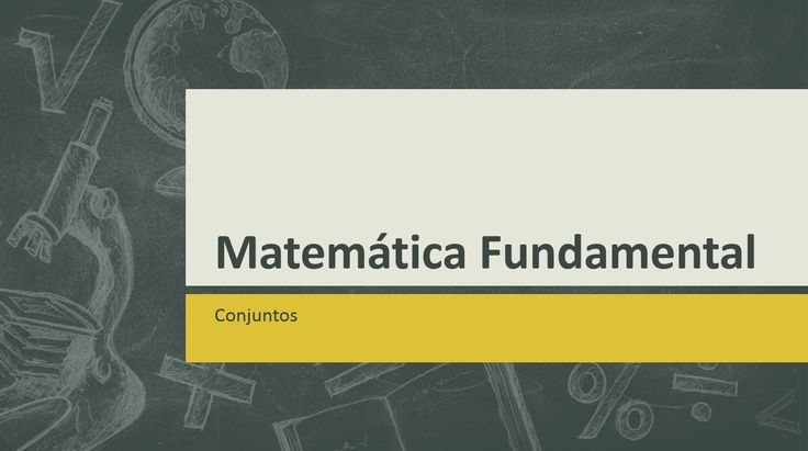 06 Matemática Fundamental, Conjuntos #ensinofundamental