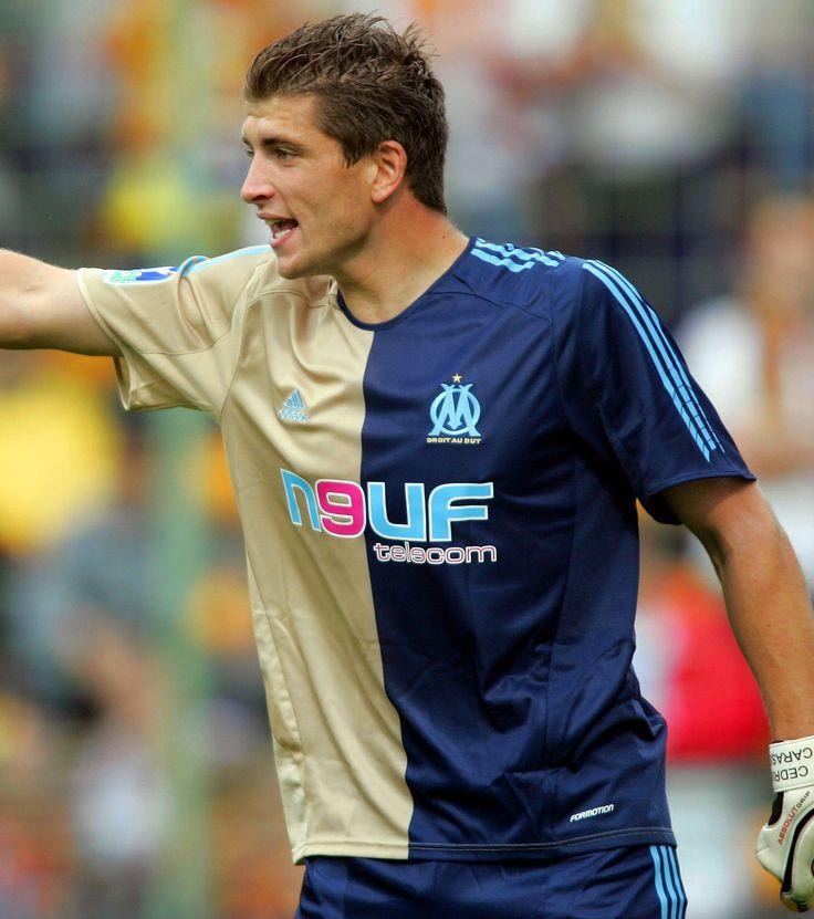 Cédric Carrasso. OM Saison 2005 - 2006.