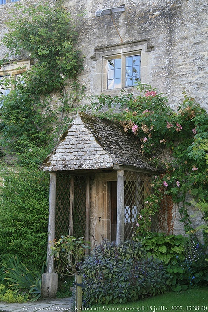 Kelmscott Manor in Oxfordshire, England. Country house of William Morris (1834-1896).