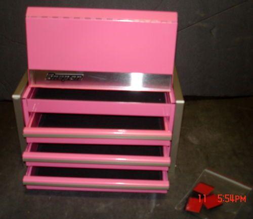 snap on pink mini tool box micro top chest nib |  | ~pink, of ...