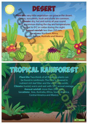 Terrestrial Ecosystem Posters