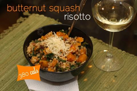 Butternet squash risotto